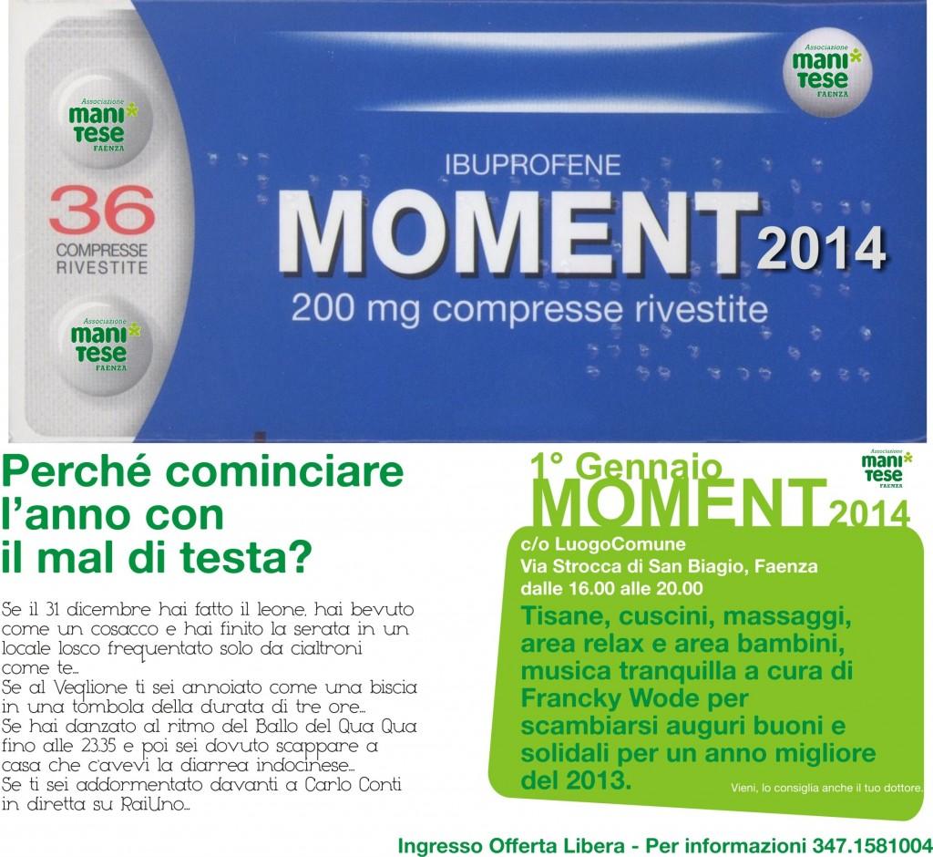 Volantino Moment2014