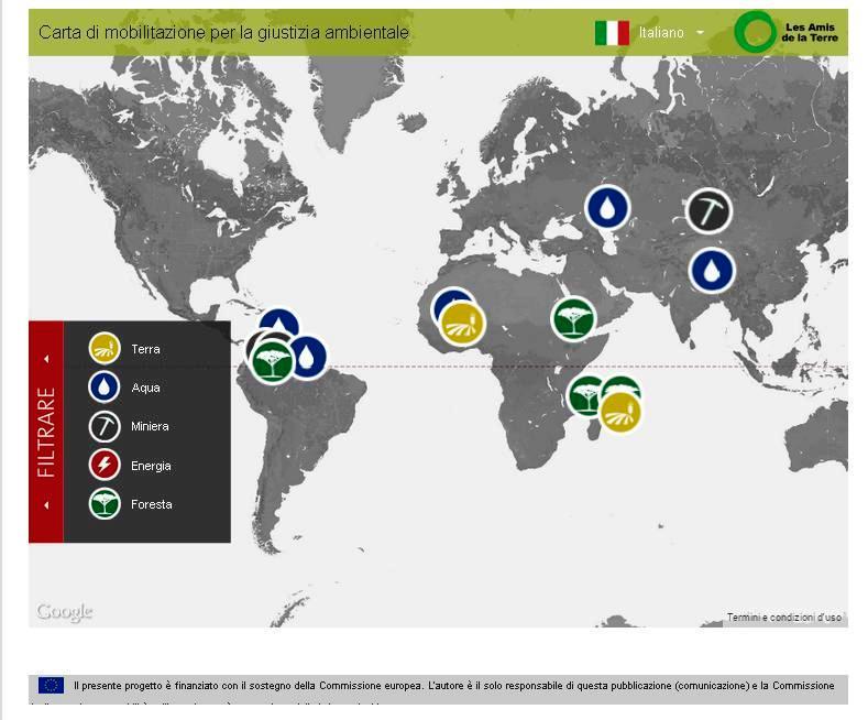 mappa giustizia ambientale