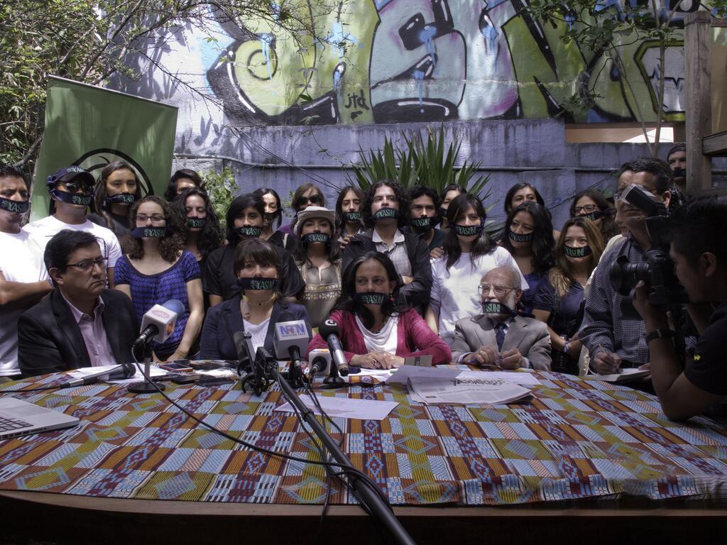 Fondazione Pacha Mama_conf stampa dopo chiusura 05122013