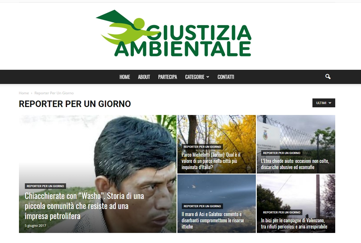 report ambientale x un giorno_mani tese_2017