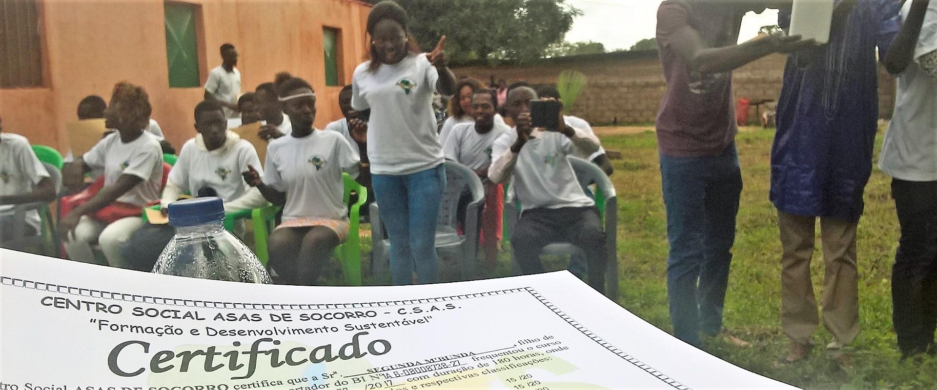 consegna 100 diplomi_guinea bissau_mani tese_2017
