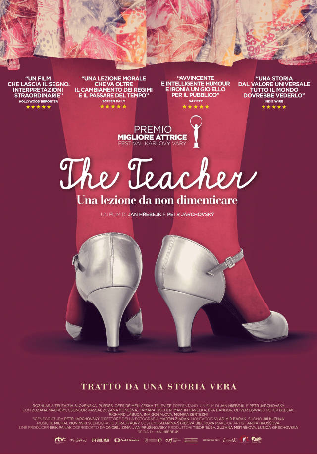 The Teacher locandina_mani tese_2017
