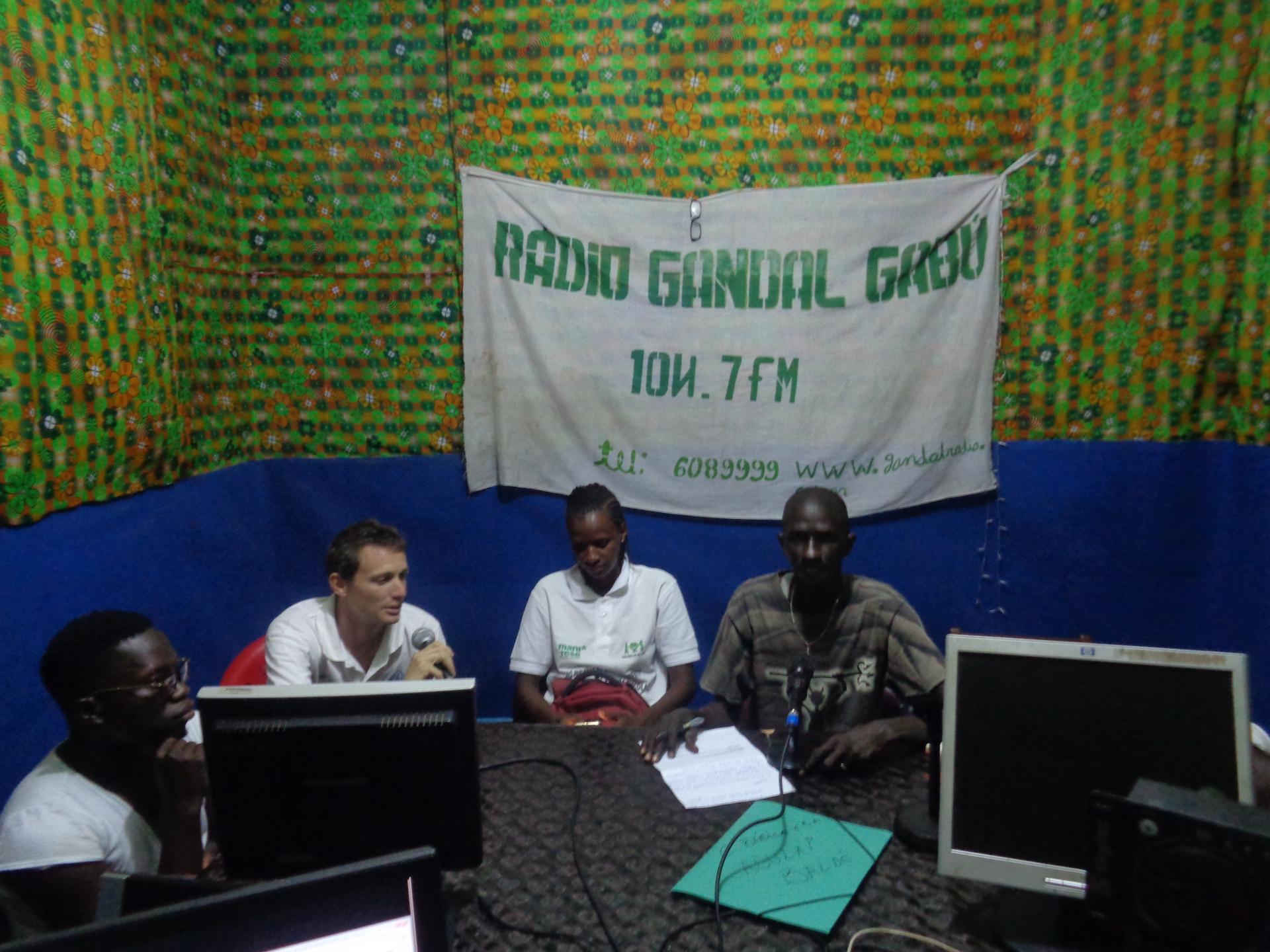 Attività di sensibilizzazione Guinea Bissau Mani Tese 2017