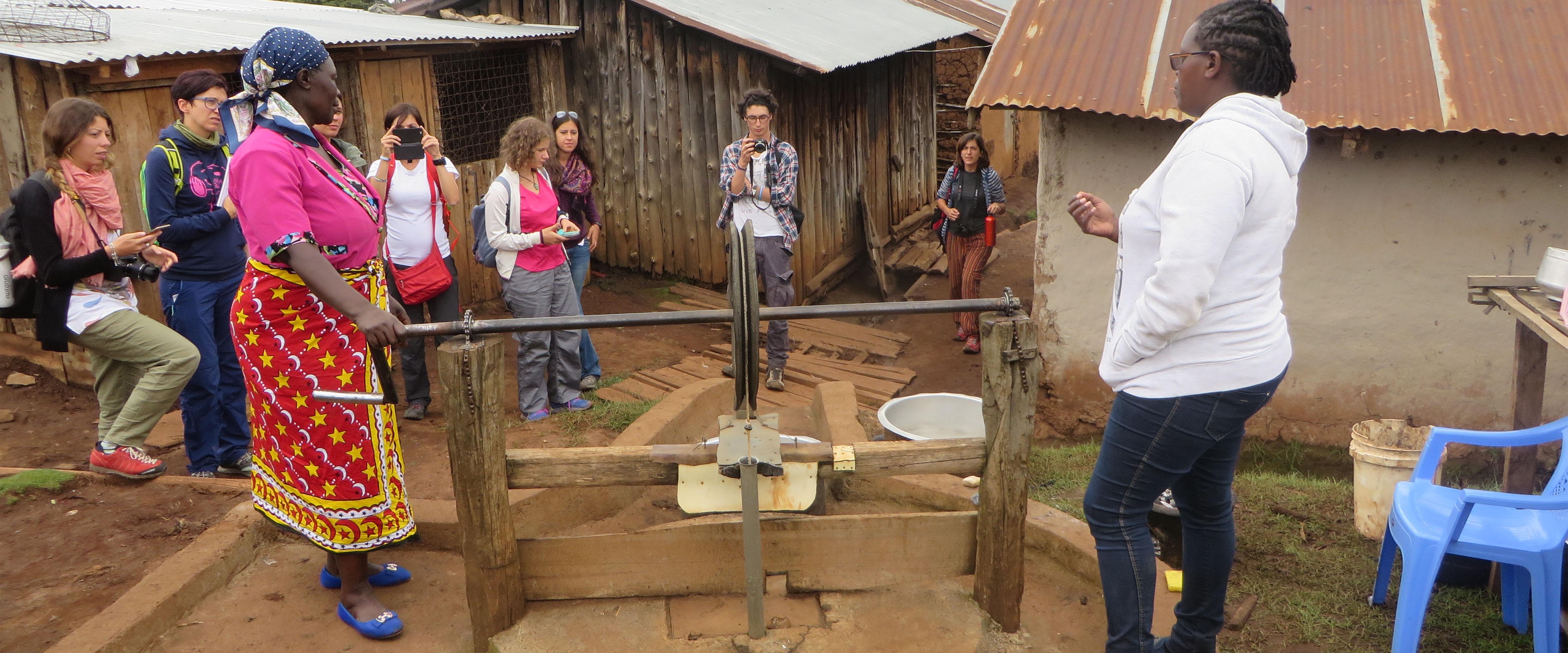 progetti donne villaggio Kenya Mani Tese 2017