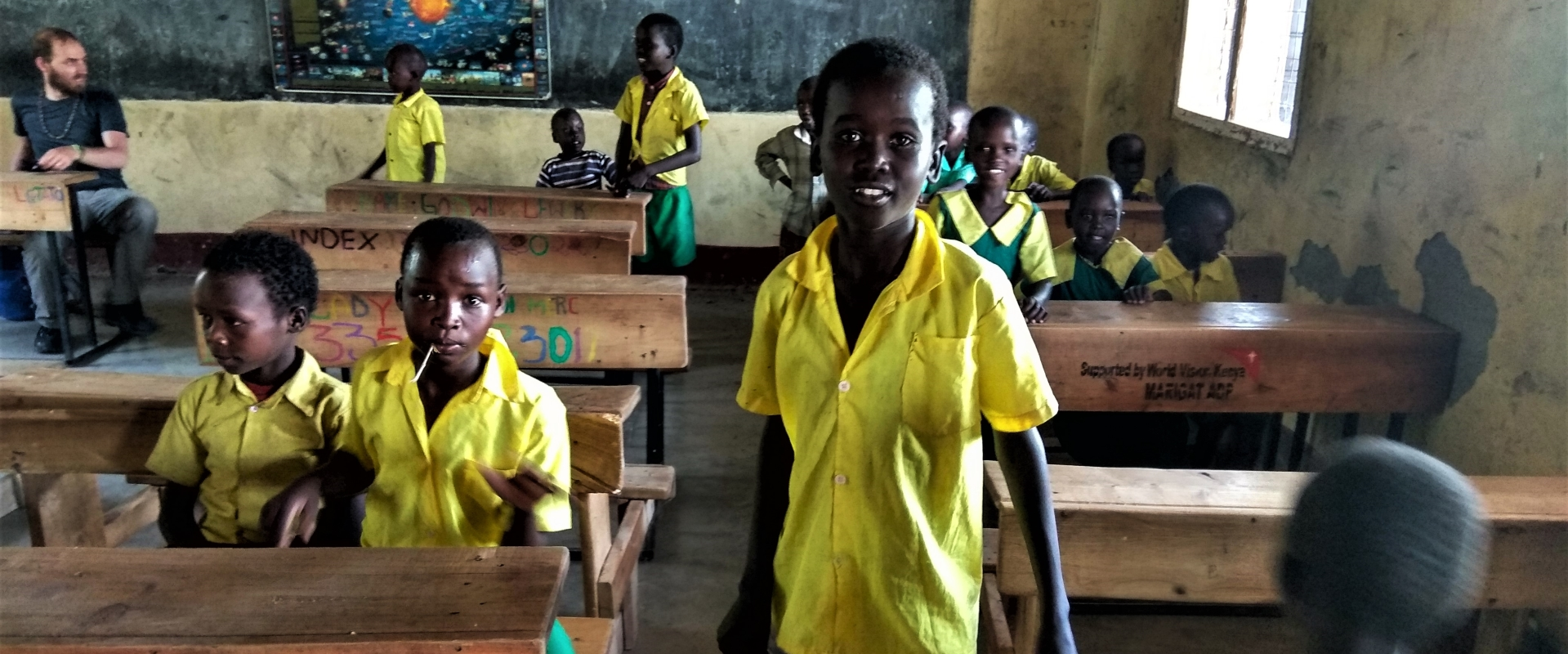scuola bambini Kenya Mani Tese 2017
