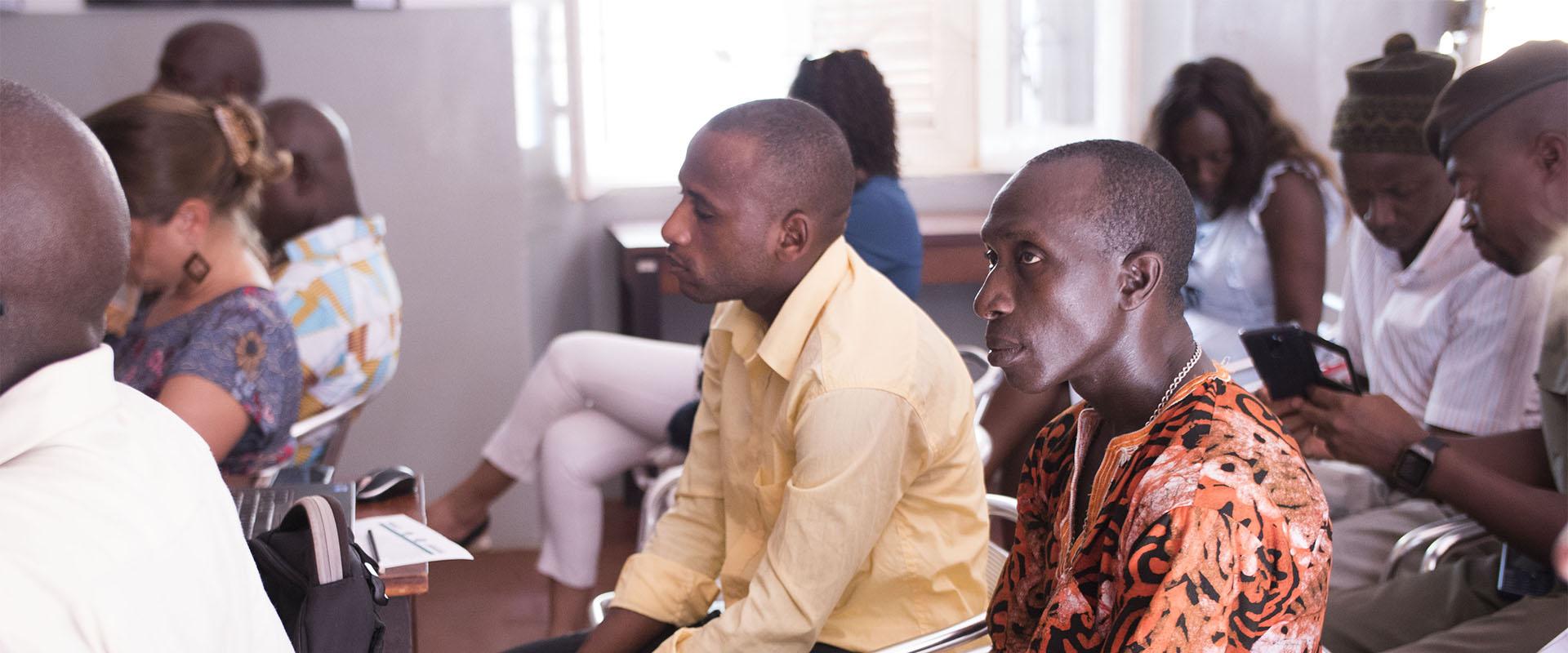 evento carceri spettatori Guinea Bissau Mani Tese 2017