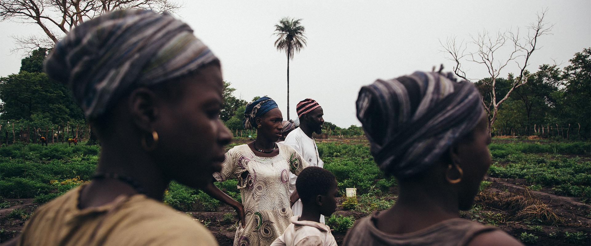 orto donne Guinea Bissau Mani Tese 2017