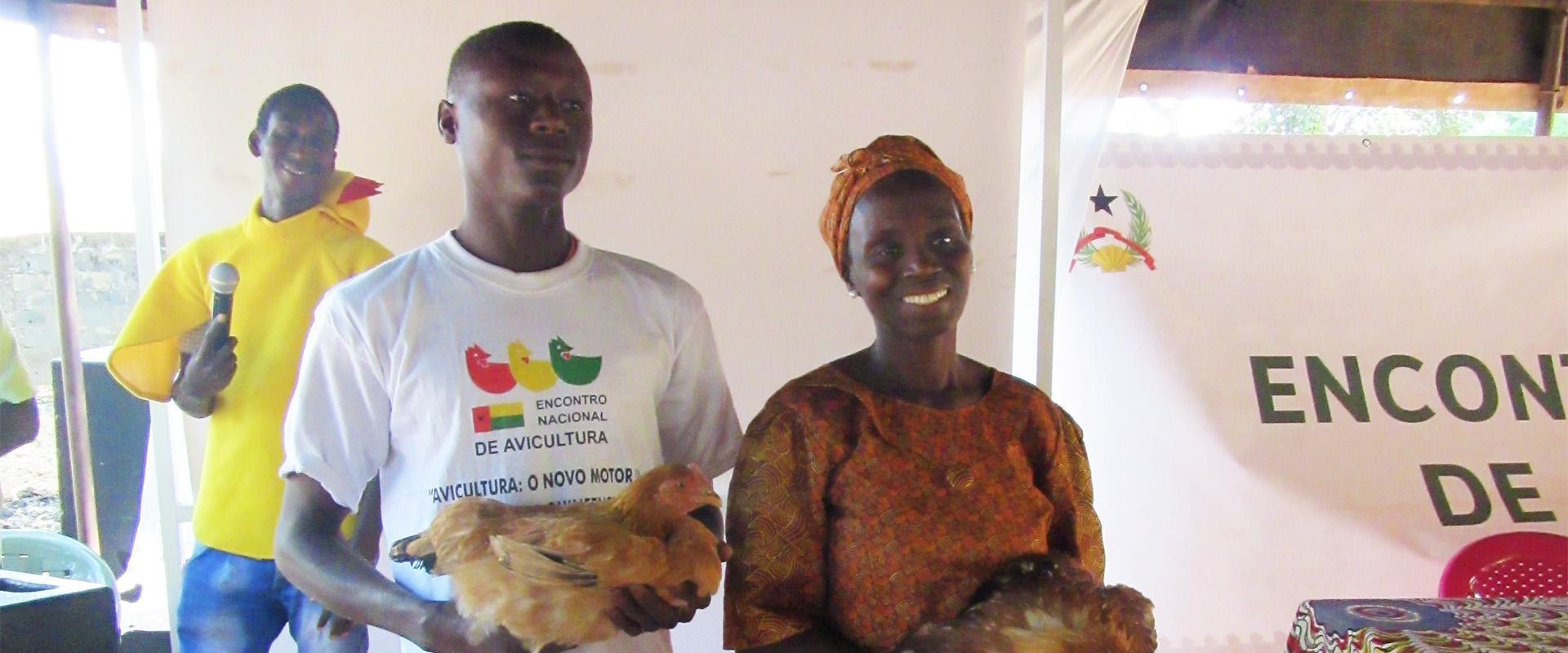 allevatori polli avicoltura Guinea Bissau Mani Tese 2018