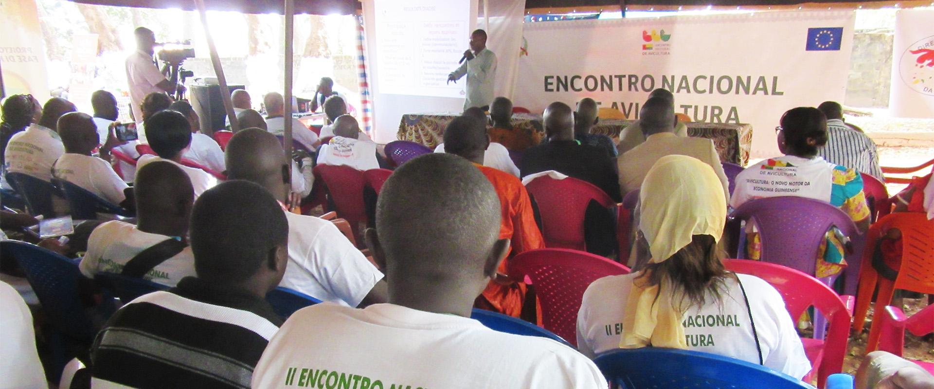 conferenza avicoltura fiera allevatori Guinea Bissau Mani Tese 2018