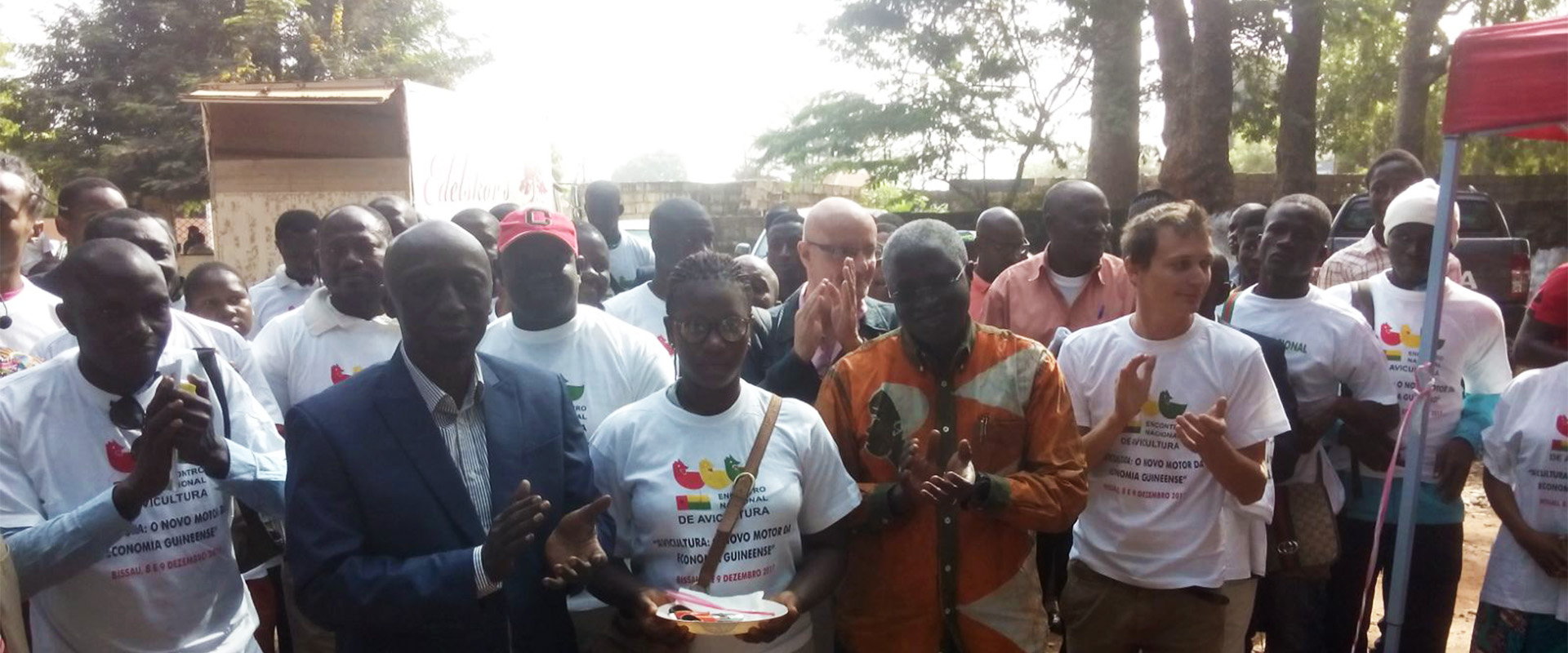 incontro fiera avicoltura Guinea Bissau Mani Tese 2018