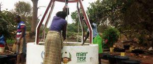 donne pozzo acqua Guinea Bissau Mani Tese 2018