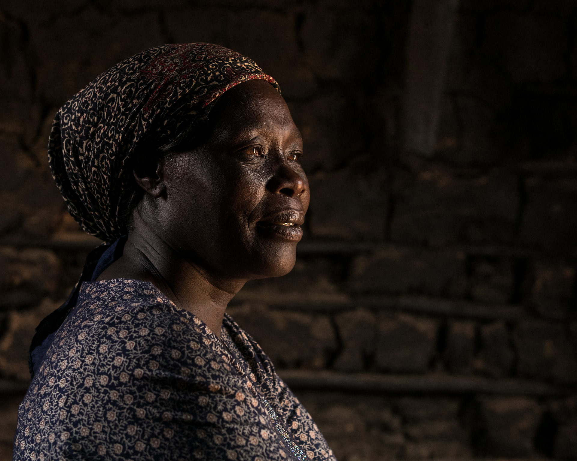 stufa salomè ritratto matteo de mayda kenya mani tese 2018
