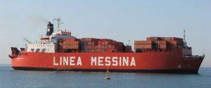 nave cargo linea messina Italia Mani Tese 2018