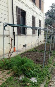 orto rete grandine Italia Mani Tese 2018