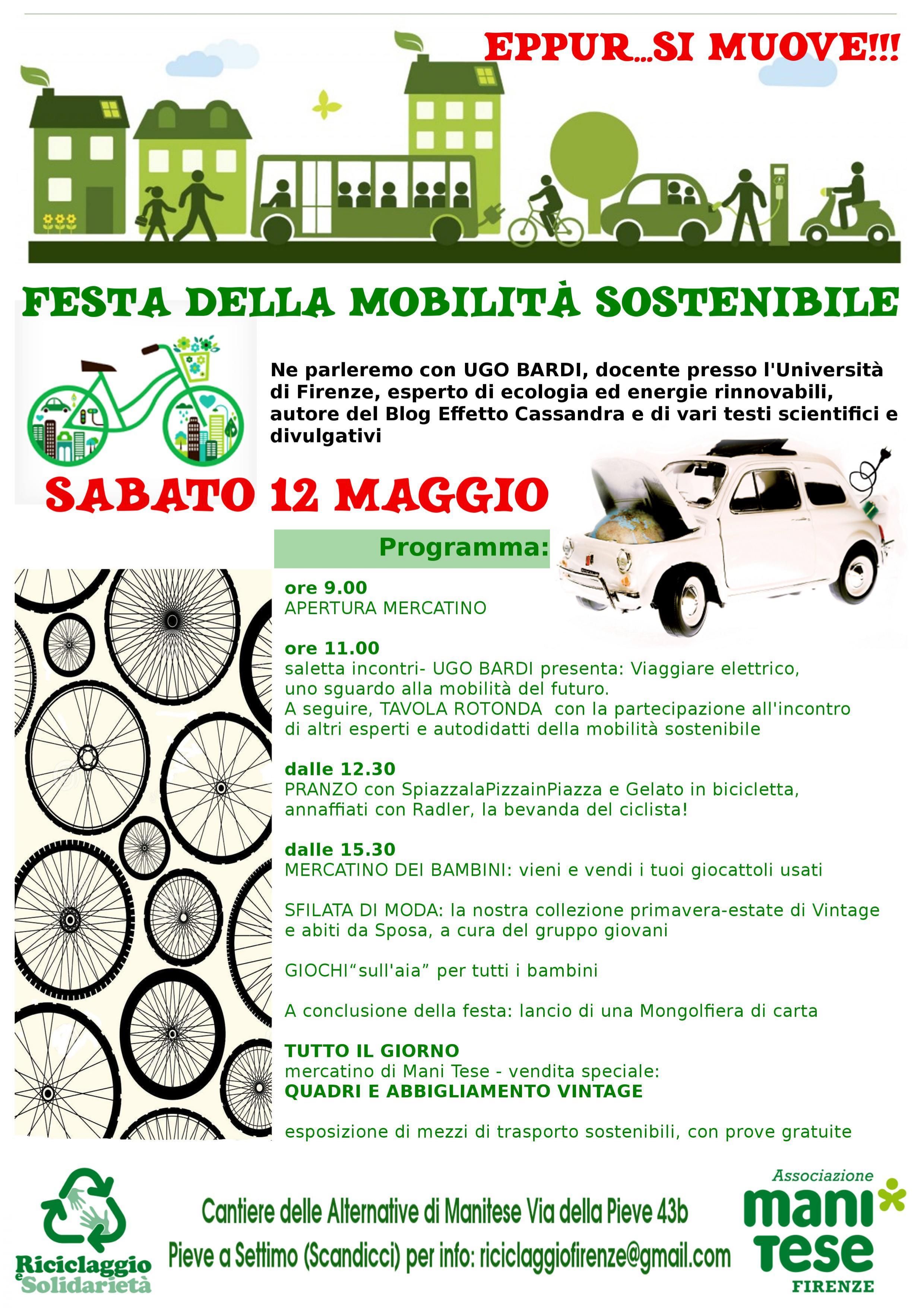 festa mobilità sostenibile firenze 2018
