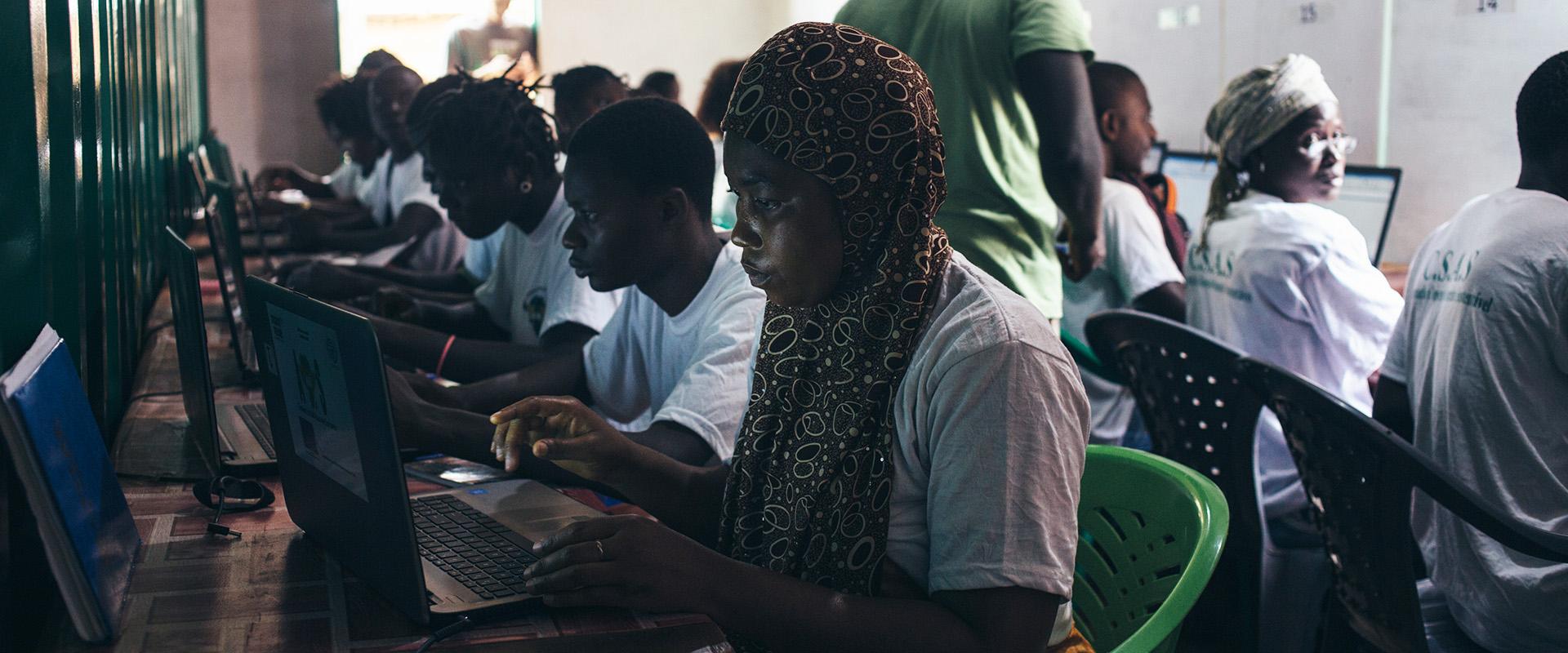 Ripartire dai giovani Guinea-Bissau Mani Tese 2018 Mirko Cecchi