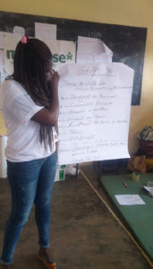 violenza di genere fomazione giovani Mani Tese Guinea-Bissau 2018