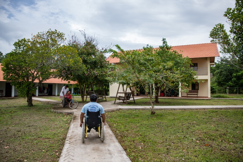 centro accoglienza vittime trafficking disabili Cambogia Mani Tese 2018
