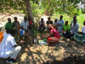 cerimonia antenati benedizione costruzione Mozambico Mani Tese 2018