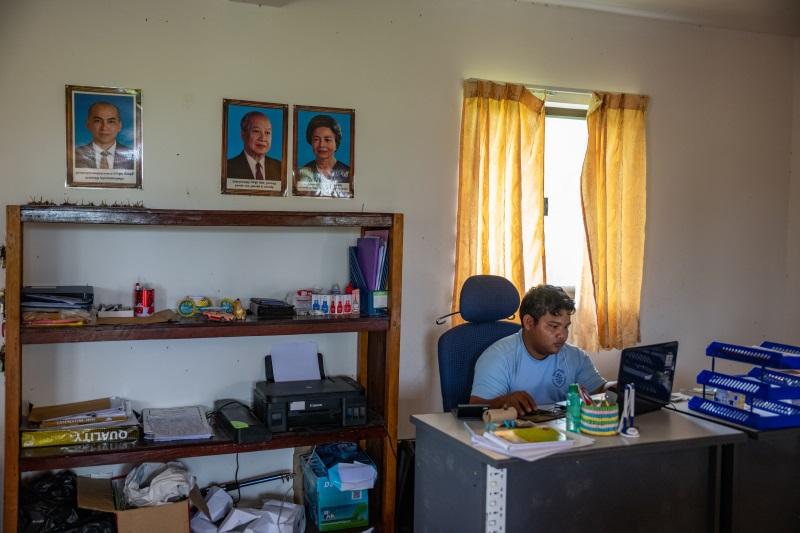contabile progetto kep Cambogia Mani Tese 2018