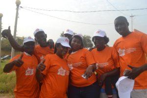 marcia contro violenza donne Mani Tese Guinea Bissau 2018