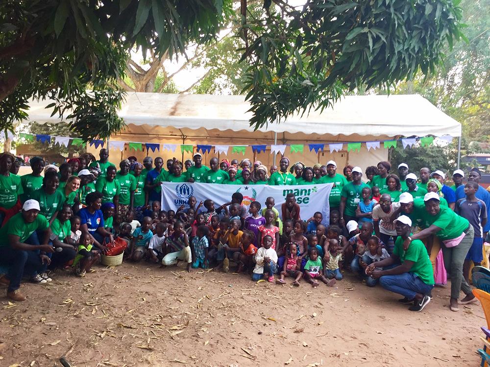fiera comunitaria integrazione rifugiati Mani Tese Guinea-Bissau 2019