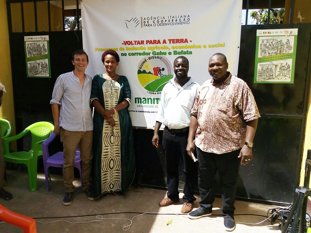 lancio progetto ritorno alla terra Guinea Bissau Mani Tese 2018