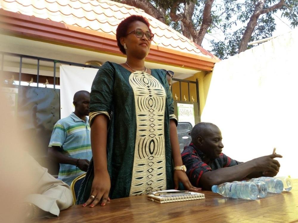 presidente istituto nazionale gioventù Guinea Bissau Mani Tese 2018