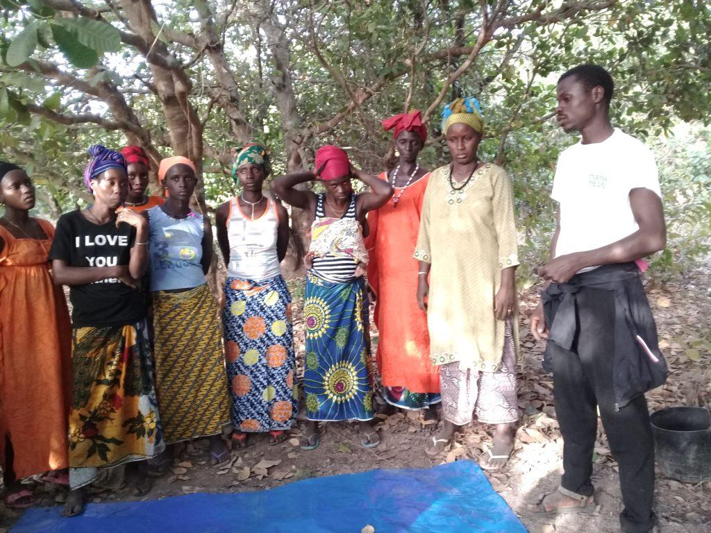 formazione agroecologia gruppo donne guinea bissau mani tese 2019