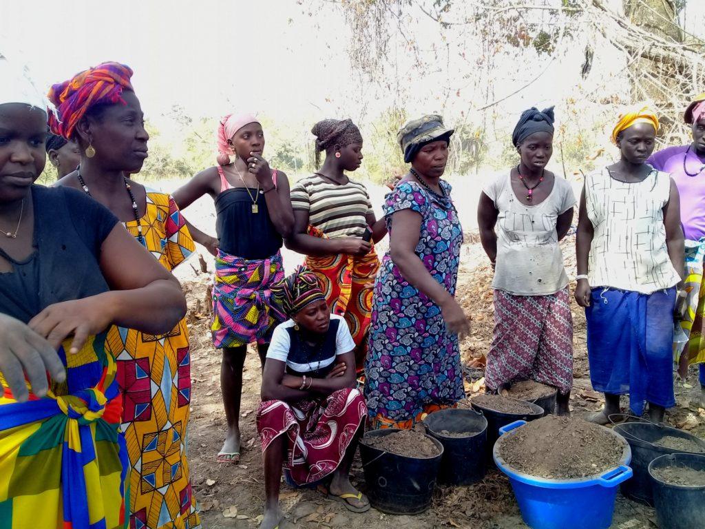 formazione donne agroecologia orti Guinea-Bissau Mani Tese 2019