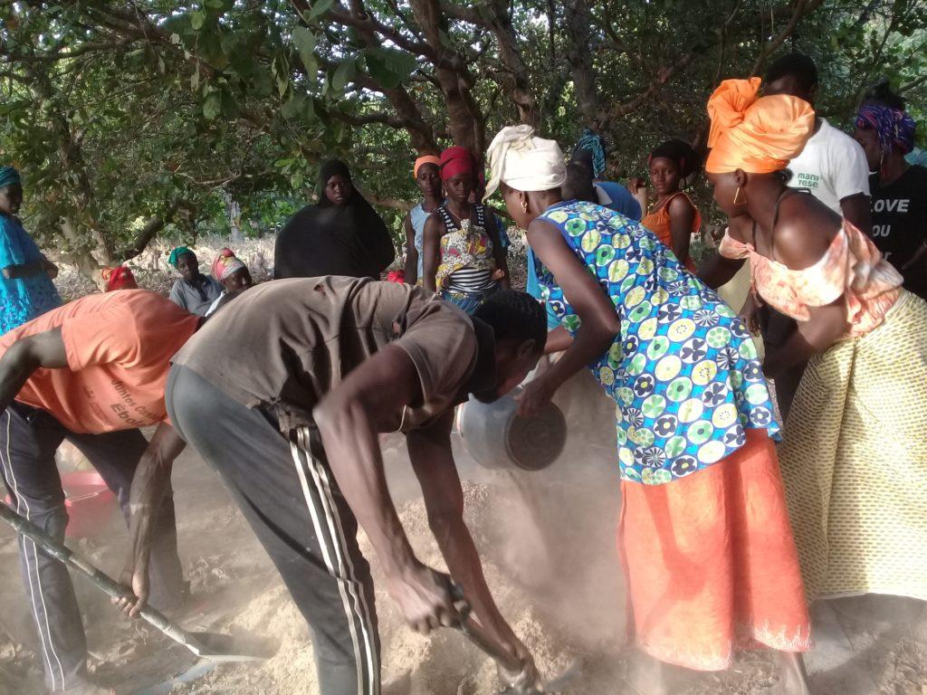 terra donne agroecologia orti Guinea-Bissau Mani Tese 2019