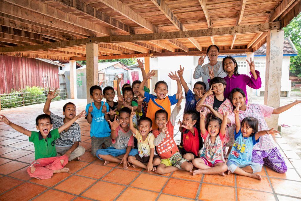 bambini accolti damnok toek cambogia mani tese 2019