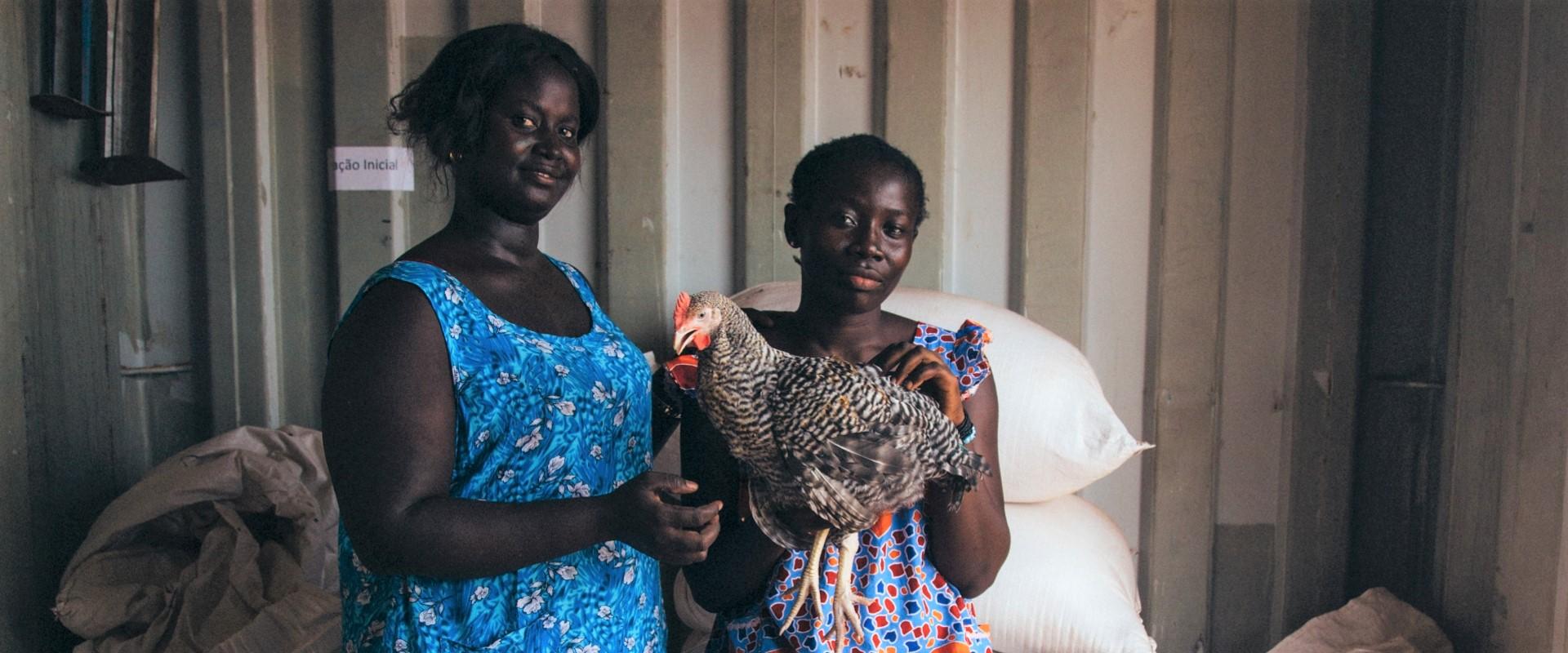 mettiamo le ali allo sviluppo filiera avicola Guinea-Bissau mani tese 2019