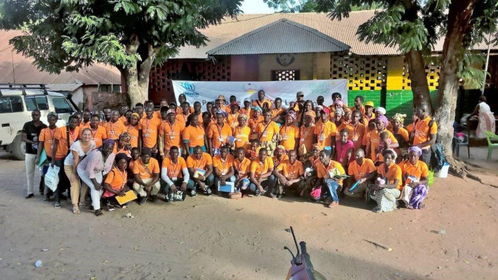 Nadile con i comitati di protezione creati in 19 villaggi - momento formazione