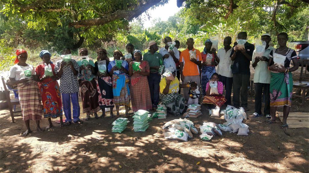 in mozambico le piogge non fermano attività agricola mani tese 2020