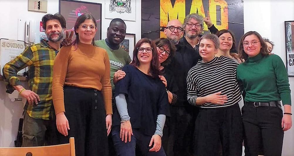 Una foto di gruppo di Mani Tese Veneto