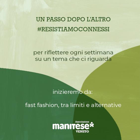 locandina un passo dopo l'altro - Mani Tese Veneto 2020