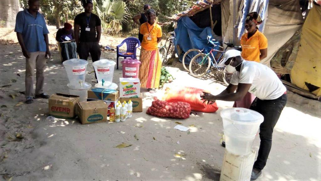 consegnati primi materiali prevenzione covid19 guinea bissau_mani tese 2020_4
